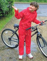 Junior Waterproof Jacket & Trouser Set